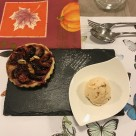 Glace aux coings et tartelette aux figues