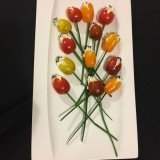 bouquet de tomates tulipes