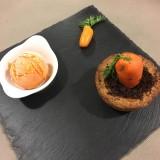 glace aux carottes-gingembre